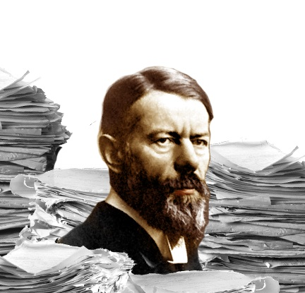 Max Weber illustrated by Harald Groven